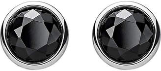 Thomas Sabo Classic black stone sterling silver ear studs