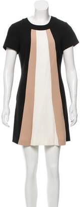 Rachel Zoe Short Sleeve Mini Dress