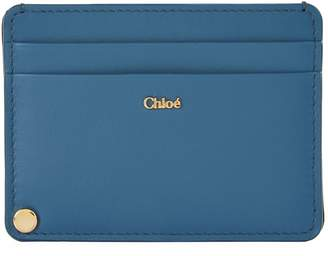 Chloé Dual Compartment Leather Card Holder