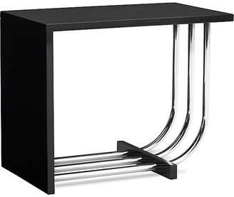 Ralph Lauren Home Tubular Steel Bauhaus Side Table - Piano Black