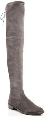 Stuart Weitzman Women's Lowland Stretch Suede Over-the-Knee Boots