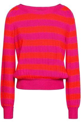 Missoni Striped Ribbed-knit Sweater