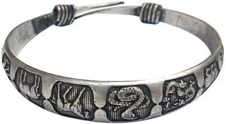 One Kings Lane Vintage Sterling Chinese Zodiac Bracelet - Laurie Frank