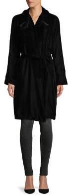 Bailey 44 Belted Velvet Trench Coat
