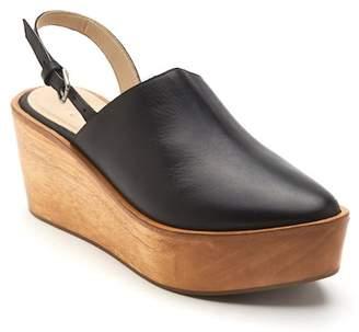 Matisse Eyals Slingback Platform Wedge Mule