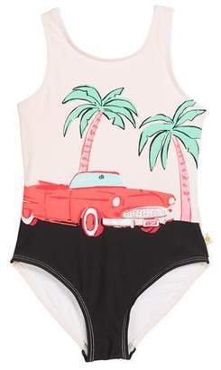 Kate Spade Road Trip One-Piece Swimsuit, Size 7-14