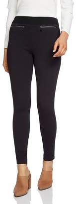 1 STATE 1.STATE Zip-Pocket Ponte Leggings