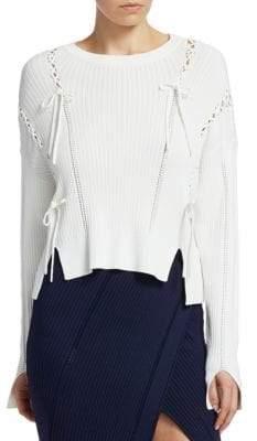 Jonathan Simkhai Ribbed Knit Sweater