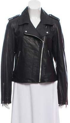 LTH JKT Modern Biker Leather Jacket