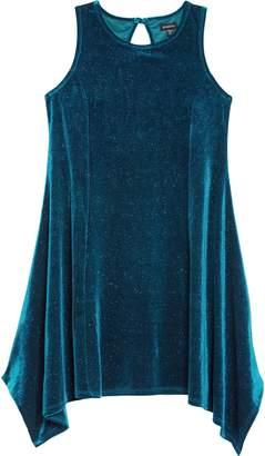 Zunie Shimmer Sharkbite Dress