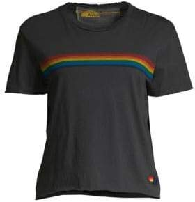 Aviator Nation Sunset Rainbow Tee
