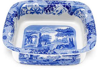 Spode Blue Italian Square Dish
