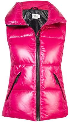 SAM. padded zipped gilet