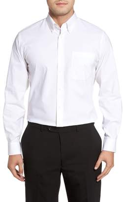 Nordstrom Tech-Smart Traditional Fit Stretch Pinrpoint Dress Shirt