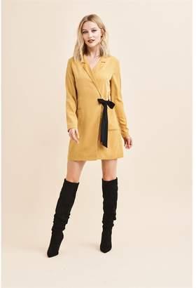 Dynamite Blazer Dress - FINAL SALE NARCISSUS