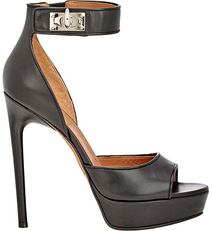 Givenchy Women's Shark Line Platform Sandals