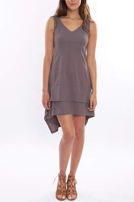 Deca Grey High-Low Dress