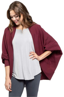 Yala Callista Dolman Sleeve Organic Cotton and Viscose from Bamboo Cocoon Wrap
