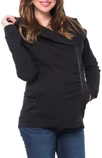 Nom Maternity Rainier Hooded Maternity Jacket