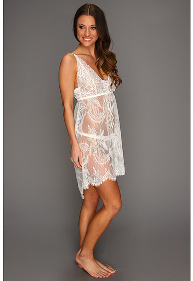 Hanky Panky Victoria Lace Chemise w/ G-String