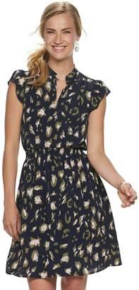 Juicy Couture Women's Flutter-Sleeve Shirtdress