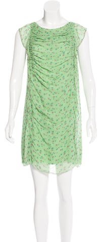 3.1 Phillip Lim 3.1 Phillip Lim Floral Print Silk Dress