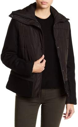 Kenneth Cole New York Wide Collar Down Jacket