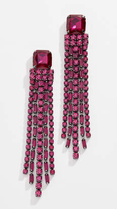 Kate Spade Glitzville Chain Fringe Earrings