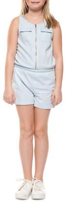 Dex Sleeveless Cotton Romper