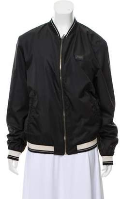 Dolce & Gabbana Zip-Up Bomber Jacket