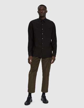 Need Oversized Button Up Shirt in Black