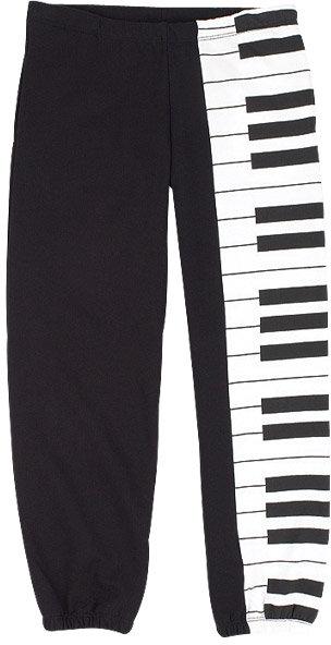 Piano Key Sweats Item#: 153576