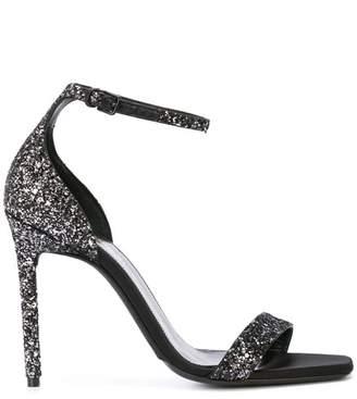 Saint Laurent glitter sandals