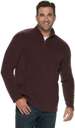 Croft & Barrow Big & Tall Classic-Fit Extra-Soft Arctic Fleece Quarter-Zip Pullover