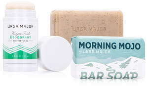 Ursa Major Freshly Minted Body Care Set