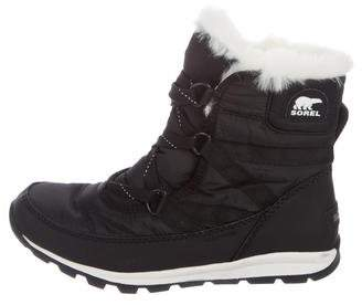 Sorel Shearling Trimmed Snow Boots