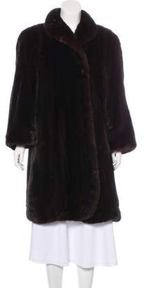 Mink Fur Duster Coat