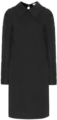 Fendi Stretch-cady dress