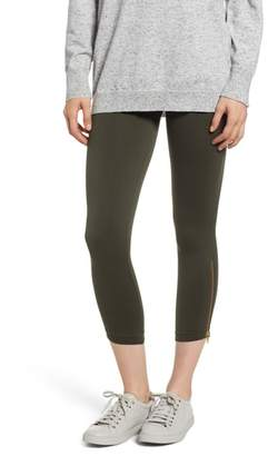 Spanx R) Look at Me Now Seamless Crop Leggings