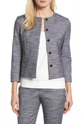 Women's Boss Jimesa Wool Blend Suit Jacket $575 thestylecure.com