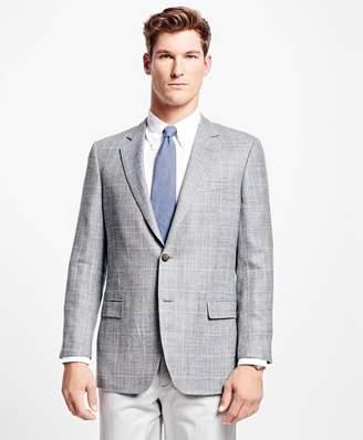 Brooks Brothers Fitzgerald Fit Multi Windowpane Sport Coat