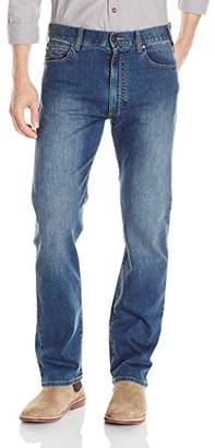 Armani Jeans Men's J31 Regular Straight Fit Jeans in Mid Wash