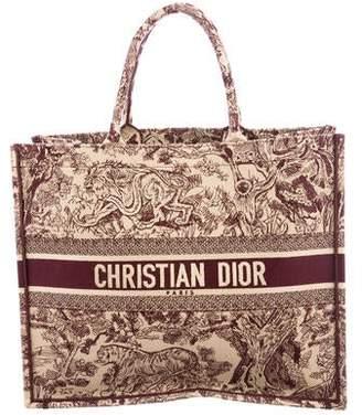 Christian Dior 2018 Toile de Jouy Book Tote