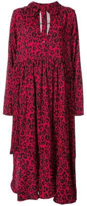 DAY Birger et Mikkelsen Barbara Bologna leopard print hooded dress