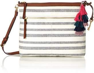 Fossil Damentasche ? Fiona Crossbody, Women's Cross-Body Bag,6.35x25.4x30.16 cm (B x H T)