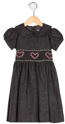 Rachel Riley Girls' Wool-Blend Holiday Dress