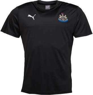 Puma Boys NUFC Newcastle United Fan T-Shirt Black