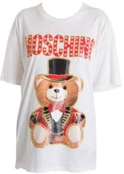 Moschino Oversize Circus Bear Logo Tee