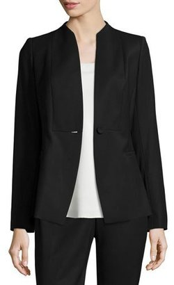 Lafayette 148 New York Max One-Button Jacket $648 thestylecure.com