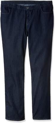 Lee Indigo Women's Petite Plus Size Comfort Collection Straight Leg Jean